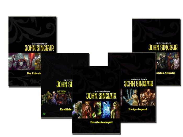 John Sinclair Game Covers