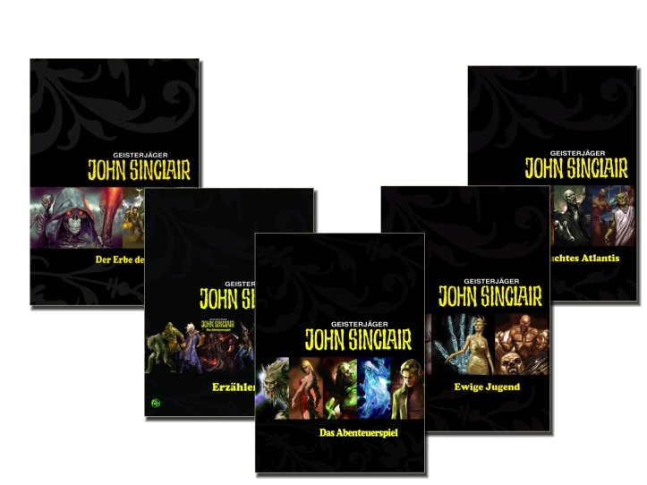 John Sinclair Game Covers